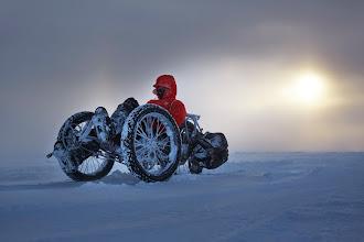 Photo: Mit dem ICE Trike zum Suedpol, Weihnachten 2014
