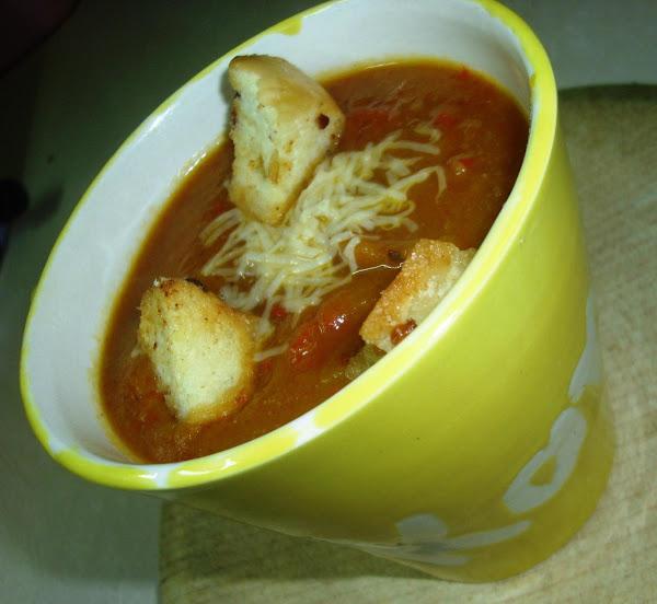Creamy Pumpkin Red Pepper Soup Recipe