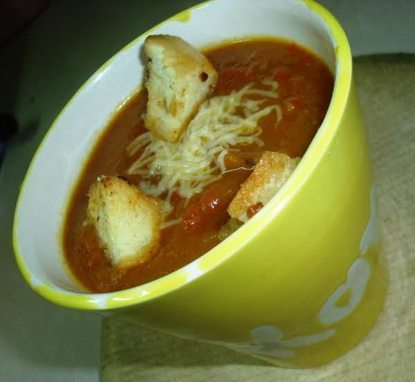 Creamy Pumpkin Red Pepper Soup