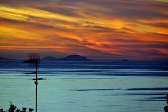 Photo: Isole Eolie dalla Calabria.