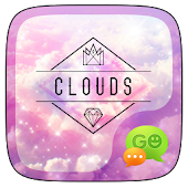 (FREE) GO SMS PRO CLOUDS THEME