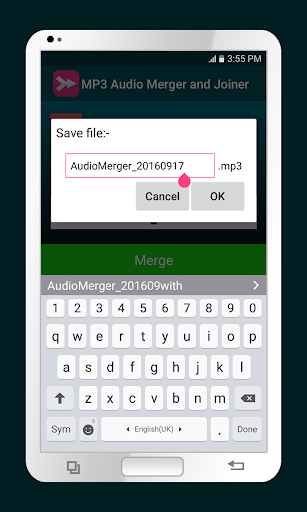 MP3 Audio Merger and Joiner 3.3 screenshots 3