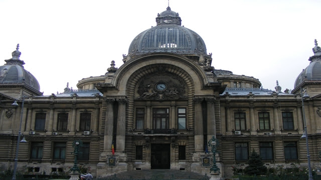 One of the oldest buildings in Bucharest