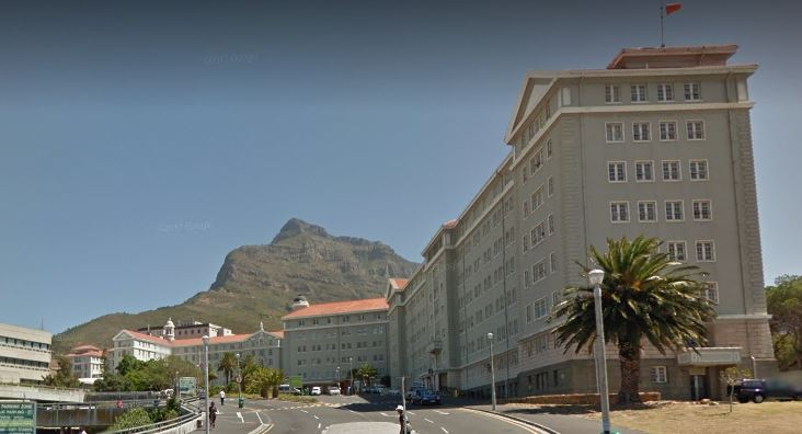 Groote Schuur Hospital in Cape Town.