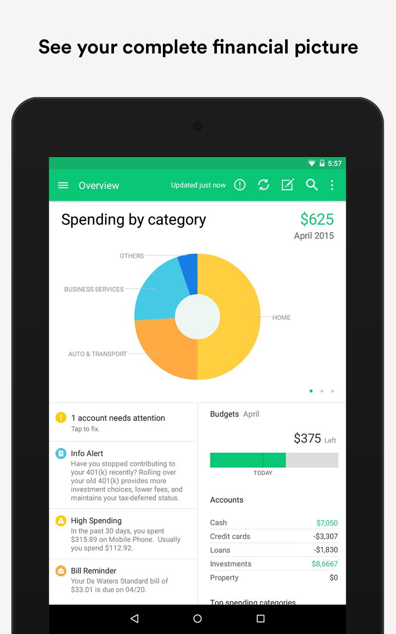 Mint: Personal Finance & Money screenshot #13