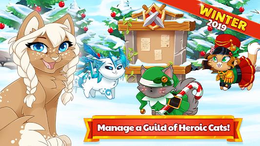 Castle Cats:  Idle Hero RPG 2.10.4 (Mod Money)