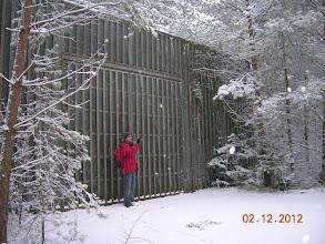 Photo: Ludwigswinkel, ancien camp militaire américain de stockage de marchandises, exploité de 1956 à 1992.