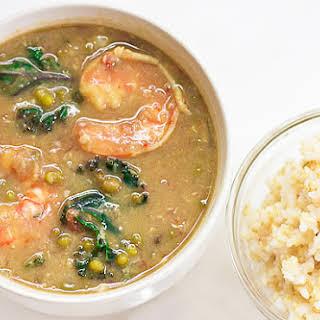 Filipino Mung Bean Stew.