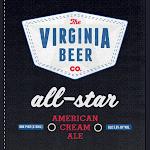 Virginia Beer Co. All-Star Cream Ale