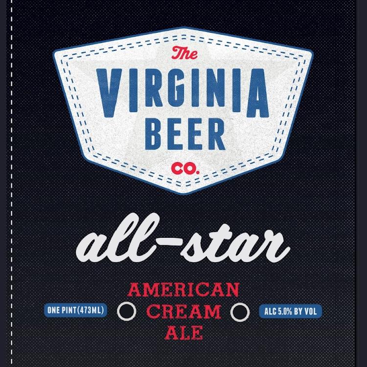 Logo of Virginia Beer Co. All-Star Cream Ale