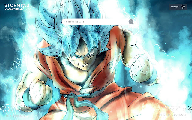 Dragon Ball Super Wallpapers & New Tab