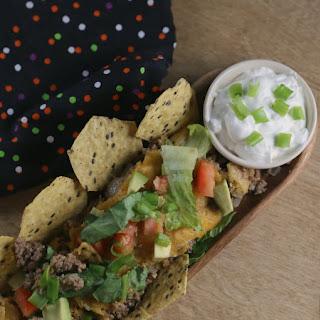 Quick & Easy Green Chili Chip Enchilada