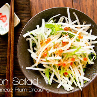 Daikon Radish Salad Cucumber Recipes