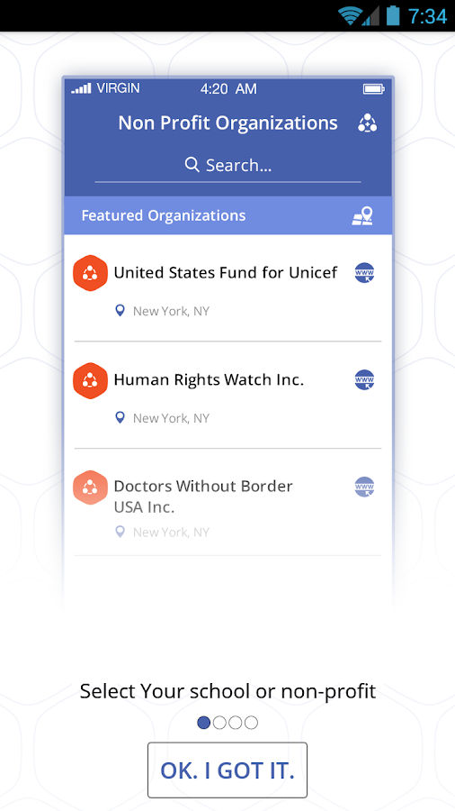 SimpleFund - Fundraising- screenshot