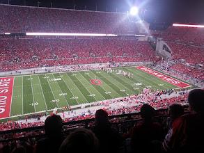 Photo: Only home night game versus Nebraska