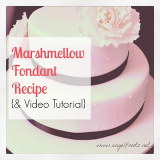 Marshmellow Fondant.