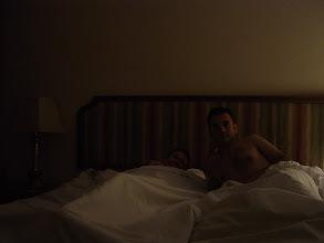 Photo: Enjoying the bed