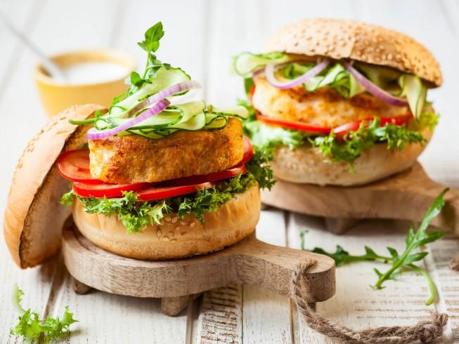 Spicy Shrimp Burgers Recipe