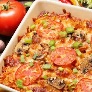 Italian-Inspired Pizza Pasta Bake