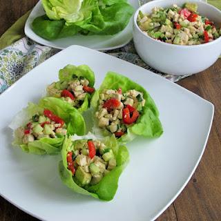 No Mayo Avocado Chicken Salad.