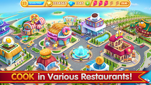 Cooking City: frenzy chef restaurant cooking games 1.82.5017 screenshots 5