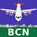 Barcelona El Prat Airport: Flight Information icon