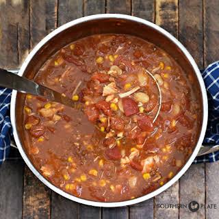 Famous Alabama Camp Stew.