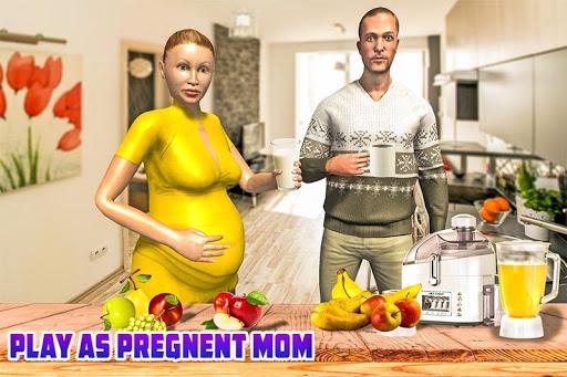 Virtual Pregnant Mom: Happy Family Fun 1.0 APK MOD screenshots 1