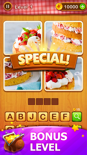 4 Pics Guess 1 Word - Word Games Puzzle 3.3 Screenshots 8