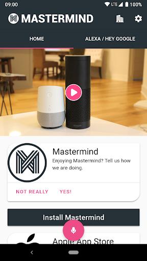 Mastermind Voice AI - Alexa, Google & workplace AI 2.0.1-PROD screenshots 2
