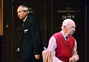 Photo: Wien/ Theater in der Josefstadt: FOREVER YOUNG von Franz Wittenbrink. Regie: Franz Wittenbrink. Otto Schenk, Kurt Sobotka. Premiere am 31.1.2013. Foto: Barbara Zeininger