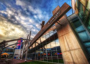 Photo: The Google HQ as the sun is setting....  from Trey Ratcliff at http://www.StuckInCustoms.com - all images Creative Commons Noncommercial