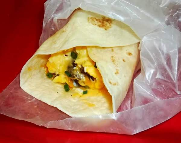 Hungry Man Breakfast Burrito To Go Recipe