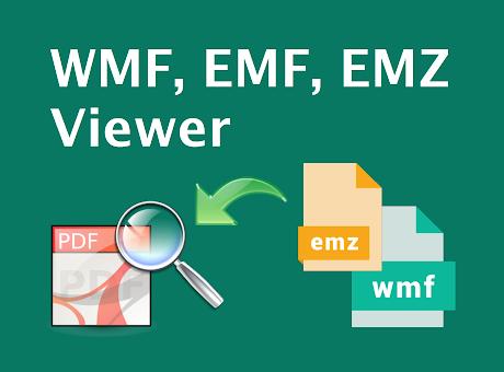 WMF, EMF, EMZ Viewer and Converter