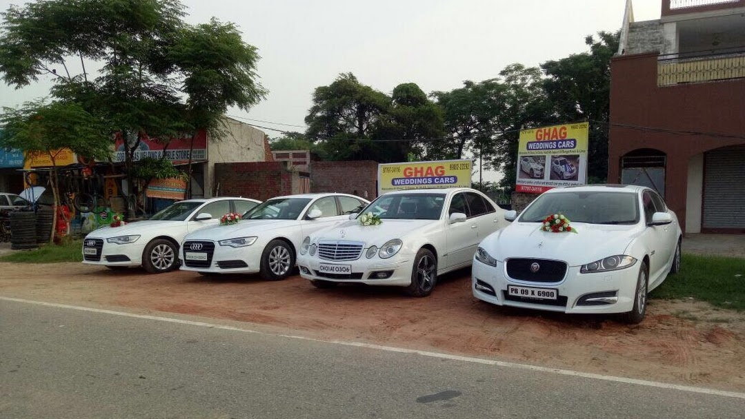 Ghag Wedding Cars Luxury Wedding Cars Doli Cars In Punjab