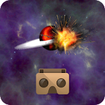 VR 360 Asteroids Icon