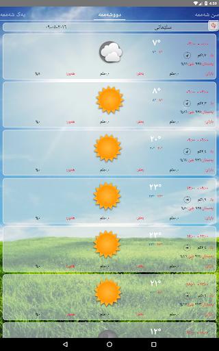 Kurdistan Weather- Kash u06a9u0648u0631u062fu06cc  screenshots 9