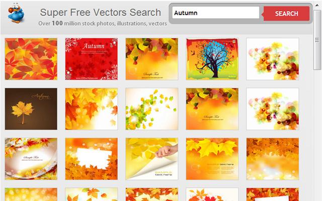 Super Free Vectors