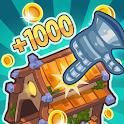 ⚔️ Tap! Tap! Kingdom - Idle Clicker Fantasy RPG icon