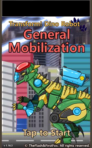 Transform Dino Robot - General Mobilization  screenshots 7