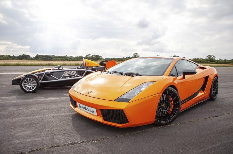 Lamborghini Superleggera Hire Cardiff