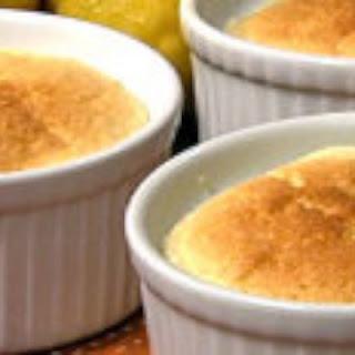 Carla Hall's Lemon Pudding Cake with Orange Liqueur