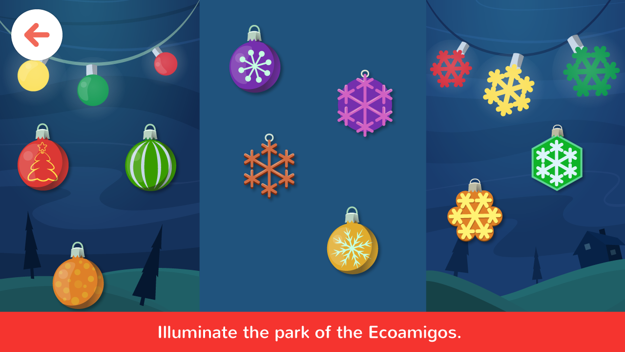 Ecoamigos Christmas- screenshot