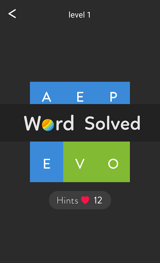 Word Shades Brain Puzzle- screenshot