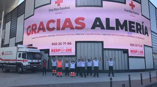 Gracias de película: Cruz Roja y el CC Torrecárdenas aplauden a los almerienses