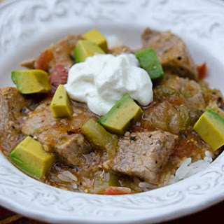 Crock-Pot Chile Verde