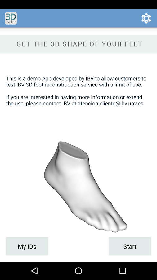 3D avatar feet- screenshot