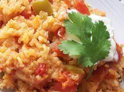 Easy Old Fashion Spanish Rice-Connie's