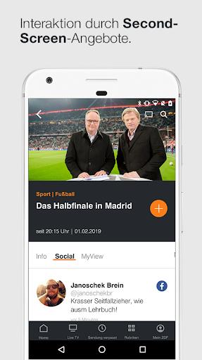 ZDFmediathek & Live TV 5.1.1 screenshots 2