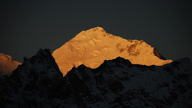 Photo: Kharta Valley, Kangshung Face close up ...